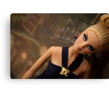 Badgley Mischka Barbie Canvas Print