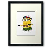 Hawai Minion ! Framed Print