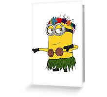 Hawai Minion ! Greeting Card