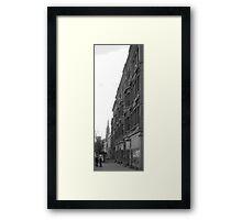 Buffalo Streetscape Framed Print