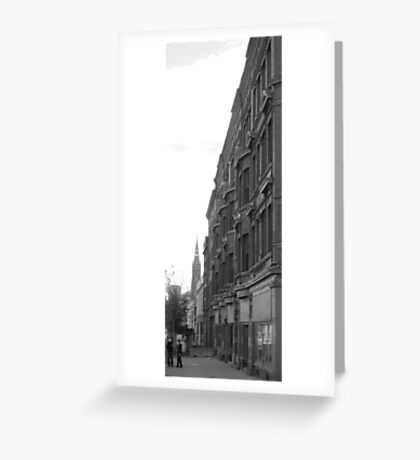 Buffalo Streetscape Greeting Card