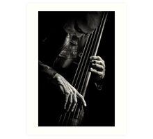 L'image - Tony Levin & bass Art Print