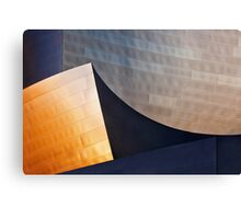 Disney-Gehry Abstract Canvas Print