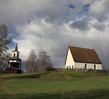 Överlännäs church, Höga Kusten / High Coast, Sweden by intensivelight