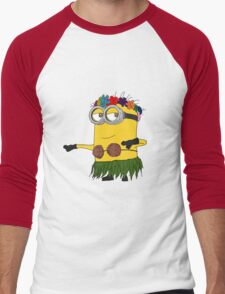 Hawai Minion ! Men's Baseball ¾ T-Shirt