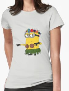 Hawai Minion ! Womens Fitted T-Shirt
