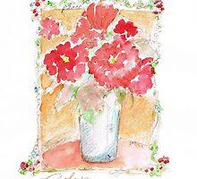 Fleurs Pour Yolanda by robynfarrell
