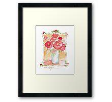 Fleurs Pour Yolanda Framed Print