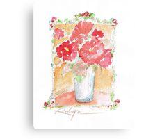 Fleurs Pour Yolanda Metal Print
