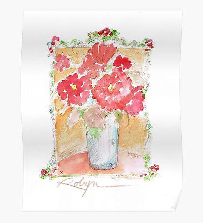 Fleurs Pour Yolanda Poster
