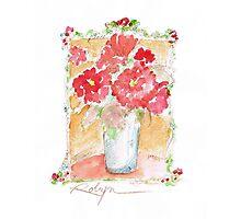 Fleurs Pour Yolanda Photographic Print