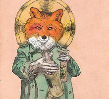 Saint Fox by Alephredo Muñoz
