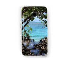 Caribbean mangroves Samsung Galaxy Case/Skin