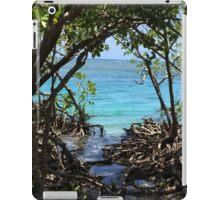 Caribbean mangroves iPad Case/Skin