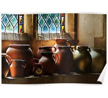 Earthenware Pots ~ St Mary's Church Poster
