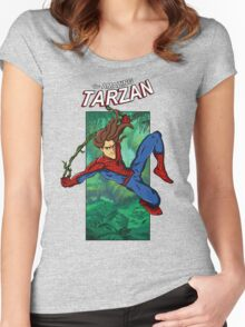 The Amazing Tarzan Women's Fitted Scoop T-Shirt
