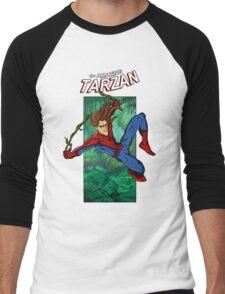 The Amazing Tarzan Men's Baseball ¾ T-Shirt