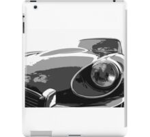 E Type Jaguar iPad Case/Skin