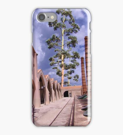 in the manner of De Chirico iPhone Case/Skin
