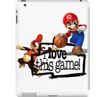 Mario Diddy Kong iPad Case/Skin