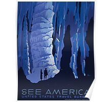 WPA United States Government Work Project Administration Poster 1063 See America Travel Bureau Poster