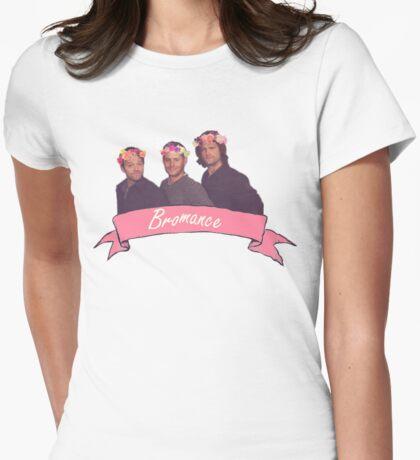Supernatural Bromance Womens Fitted T-Shirt