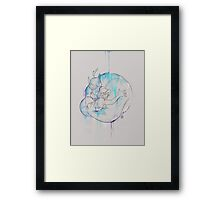 What are you drawing Ryan? // 252 Framed Print