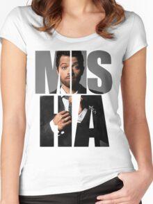 Misha Misha Misha Collins Women's Fitted Scoop T-Shirt