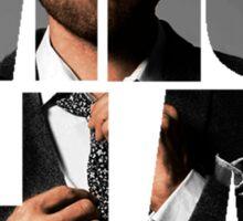 Misha Misha Misha Collins Sticker