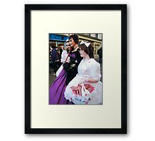 The Goth Weekend at Whitby, Oct 2010. 25  Framed Print