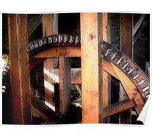 Burwell-Morgan Mill_5 Gears Poster