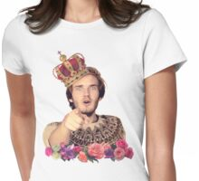 Poodiepie - The King Womens Fitted T-Shirt