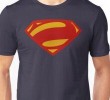 Man Of Steel Bizarro Red Textured Logo Unisex T-Shirt