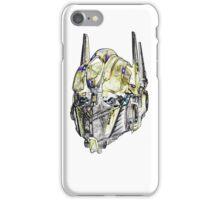 Optimus Sketch iPhone Case/Skin