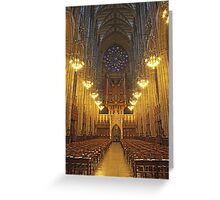 Lancing College Chapel West End Greeting Card