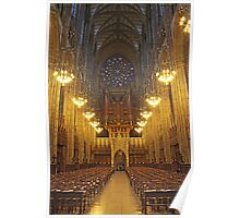 Lancing College Chapel West End Poster