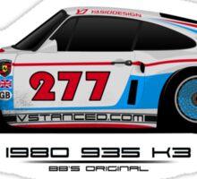 935 K3 Magnus Walker Edition - Sticker Sticker