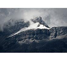 Misty Peak Photographic Print