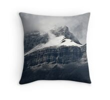 Misty Peak Throw Pillow