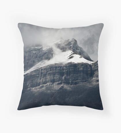 Misty Peak Throw Pillow