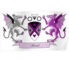 Asexual Crest Poster