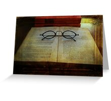 American Authors Series 1903 Ishmael Greeting Card