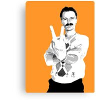Trainspotting - Begbie Canvas Print