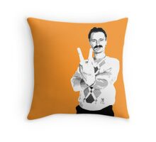 Trainspotting - Begbie Throw Pillow
