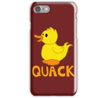 Quack iPhone Case/Skin