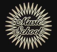 Music School Kids Tee