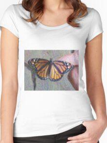 Monarch Butterfly ChangeArt Women's Fitted Scoop T-Shirt