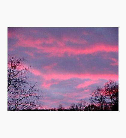 A Beautiful October Night Sky Photographic Print