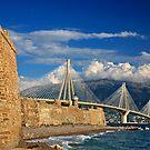 New bridge, old castle by Hercules Milas