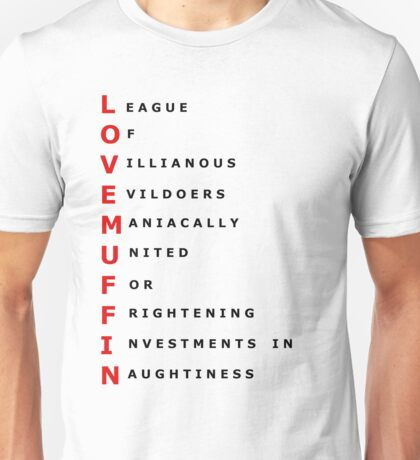 Lovemuffin  Unisex T-Shirt